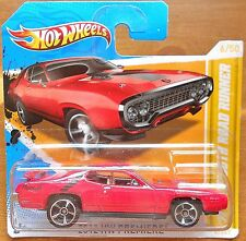 HotWheels Cars (2012) '71 Plymouth Road Runner 1:64 NEW