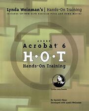 NEW Adobe Acrobat 6 Hands-On Training (Lynda Weinman's Hands-On Training)