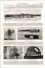 1898 Degerfors aciérie Bofors Fonderie d'Acier Plaque De Blindage arme mécanismes