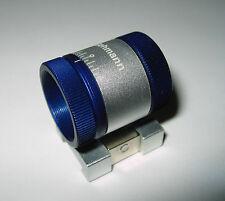 Gehmann M18 Foresight Silver/Blue anodize Fit Anschutz, Feinwerkbau, Steyr and+