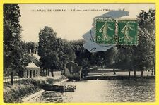 cpa 78 - VAUX DE CERNAY (Yvelines) L'ÉTANG particulier de l'ABBAYE vanne écluse