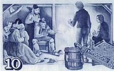 ISLANDE billet neuf de 10 KRONUR tres pittoresque Pick48 ARNGRIMUR JONSSON 1981