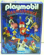 Décorations D'Arbre Playmobil 3943 de `00 pour Noël Papa Noël Ovp Neuf Rare