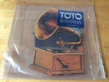 """Toto - Rosanna 7"""" Picture Disc Vinyl Record (1983) Rare"""