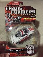 Transformers Generations Classics Deluxe Class Red Alert MOSC