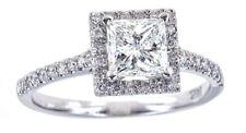 Anelli con diamanti oro bianchi e