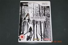 Resident Evil 4 Wii Edition Nintendo Wii UK PAL **FREE UK POSTAGE**