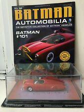 AUTOMOBILIA EAGLEMOSS COLLECTION ISSUE 85 BATMAN #101 VEHICLE + MAGAZINE