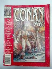 Conan Saga Magazine Red Cover 1987