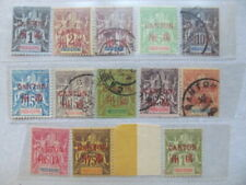 E4762) Frz Indochina*/**/o tolles Lot ex 1-15 I Canton mit Typen!!
