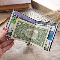 Bifold Wallet Purse Wallet Money Clip Short Style Wallet ID Credit Card Holder