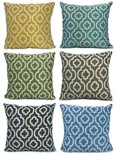 """Cushions Chenille Moroccan Diagona Scatter Cushions or Covers NEW 17""""X17"""""""
