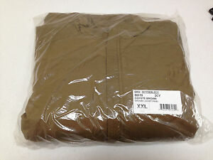 WILD THINGS TACTICAL COYOTE BROWN SMOKING JACKET-FR-BU XX-LARGE NEW #50170
