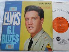 ELVIS PRESLEY G.I. Blues NM- CANADA '70s ORANGE Reissue STEREO OST LSP-2256 LP