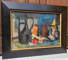 CLAUDE VENARD impressionist cubist painting France Paris abstract modernist