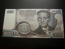 1000 Schilling 1983 Banknote  Erwin Schrödinger Österreich  I-II W/19635