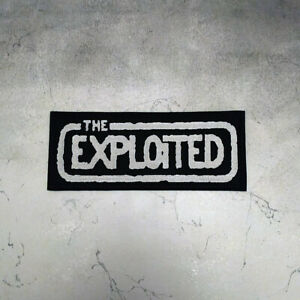 Big Back patch The Exploited Punk band.