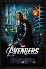 Avengers Thor Chris Hemsworth 35mm Film Cell strip very Rare var_b