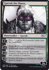 MTG M15 Garruk the Slayer Prerelease Oversize Promo Card MAGIC