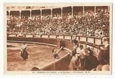 Bullfighting/Corrida de Toros - El brindis - Vintage postcard