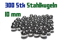 300 x 10mm Stahlkugeln Steinschleuder Zwille Slingshot Pocket shot Munition
