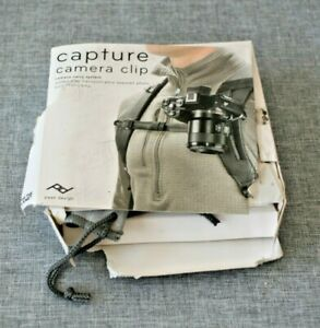 NEW CAPTURE CAMERA CLIP CAMERA CARRY SYSTEM BY PEAK DESIGN - open box