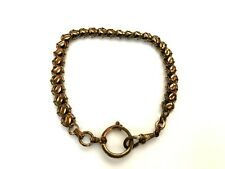Chain for Pocket Watch 17.6g Vintage Antique Brass gilded with wear