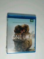 One Life - Narrated by Daniel Craig! (Blu-Ray, 2013, BBC Earth) NEW!