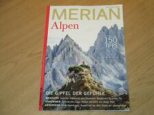 MERIAN  +++  ALPEN  +++  AUGUST 2019   +++   TOP   +++