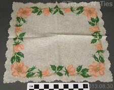 2 Vintage Franciscan Desert Rose USA Cocktail Appetizer Paper Napkins (GG)