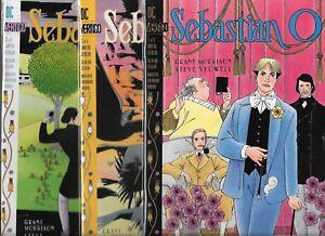 SEBASTIAN O #1-#3 SET (NM-) DC VERTIGO COMICS, GRANT MORRISON