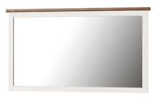 Specchio moderno tinta rovere e tinta pino andersen Mod. Cindy 70 cm L144xH80xP5