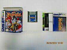 CRAZY VAMPIRE DRACULA - GAME BOY COLOR - COMPLETE IN BOX!! CIB