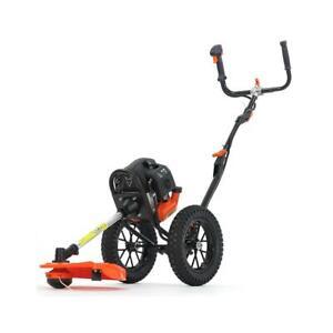 Petrol FUXTEC wheeled brush cutter/grass trimmer FSR152 –2.2kW–51.7cc–2-stroke