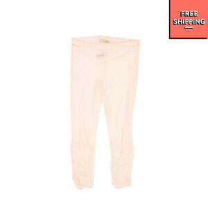 MISS GRANT Tulle Leggings Size 6-7Y / 116-122CM White Elasticated Waist