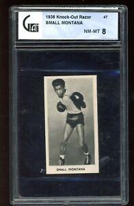 1938 Knock-Out Razor #47 Small Montana GA 8