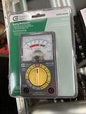 NEW Commercial Electric Analogue Multimeter Multi meter tests AC and DC volt. a