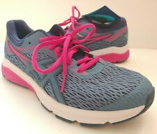 Asics GT1000 v5 GS Sz Youth 7M EU40 Youth Kid's Running Shoes Azure Fuschia NWT