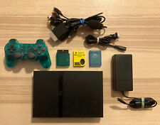 Sony PS2 SLIM System Console Bundle Playstation 2 With Controller & Memory Cards