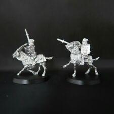 Games Workshop LotR 2 iron hills goat riders METAL RAR(Unreleased Miniatures)