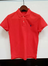 Polo à manches courtes RALPH LAUREN orange uni