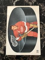 MARCEL PRONOVOST 1962-63 PARKHURST HOCKEY CARD #33 DETROIT RED WINGS