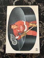 MARCEL PRONOVOST 1962-63 PARKHURST HOCKEY CARD #33 DETROIT RED WINGS