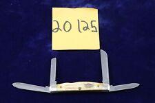 Vintage Case XX USA Second Cut Burnt Bone Congress Knife 1984 5C64052 SS
