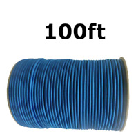 "1//4/"" Blue Shock Cord Marine Grade Bungee Heavy Duty Tie Down Stretch Rope Band"
