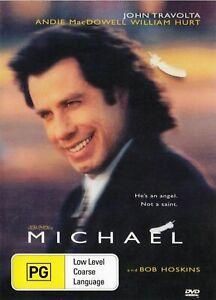 Michael DVD John Travolta New and Sealed Australia