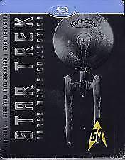 STAR TREK - 3 Movie Collection blu ray Steelbook ( NEW )