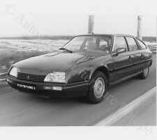 1987 CITROËN CX 25 TRD TURBO 2 PRESSEBILD PRESS FACTORY PICTURE BILD ORIGINAL