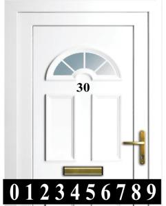 House Office Sign Door Numbers Self Adhesive Vinyl Decals Sticker
