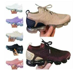 Womens Running Trainers Ladies Air Cushion Walk Fitness Gym Lace-up Sneakers